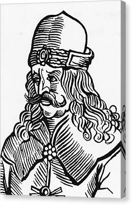 Vlad Tepes Dracula Canvas Print by French School