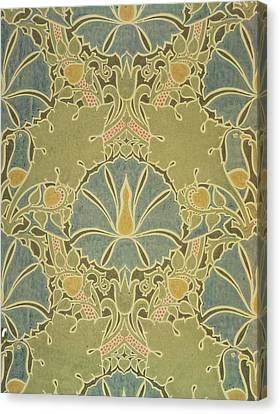 Voisey The Saladin Canvas Print by William Morris