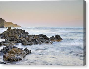 Volcanic Rocks Canvas Print by Guido Montanes Castillo