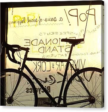 Volker Bicycles Canvas Print by Elizabeth Sullivan