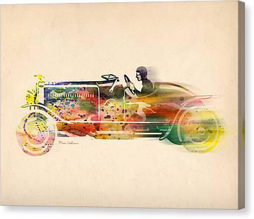 Volkswagen Canvas Print by Mark Ashkenazi
