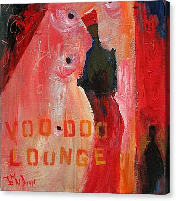 Voo Doo Lounge Canvas Print by John Dunn