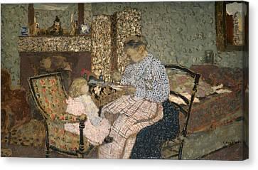 Vuillard Soup, 1900 Canvas Print by Granger