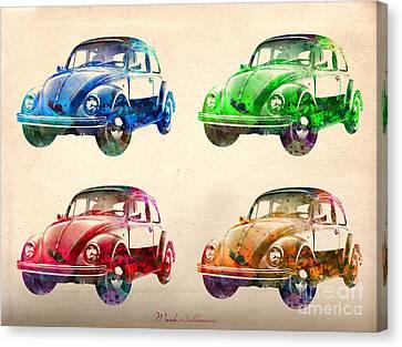 Vw 2 Canvas Print by Mark Ashkenazi