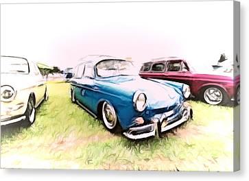 Vw Squareback Canvas Print by Steve McKinzie