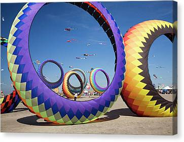 Wa, Long Beach, International Kite Canvas Print by Jamie and Judy Wild