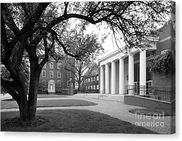 Wabash College Sparks Center Canvas Print by University Icons