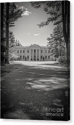 Wadsworth Mansion At Long Hill Middletown Connecticut Canvas Print by Edward Fielding