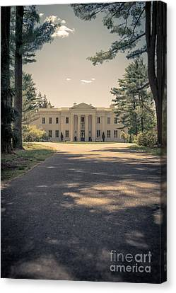 Wadsworth Mansion Middletown Connecticut Canvas Print by Edward Fielding