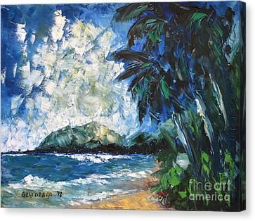 Waimanalo Canvas Print by Larry Geyrozaga