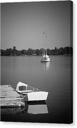 Waitin On The Wind Canvas Print by Bill Wakeley