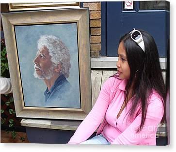 Waiting For A Portrait Session Canvas Print by Lingfai Leung