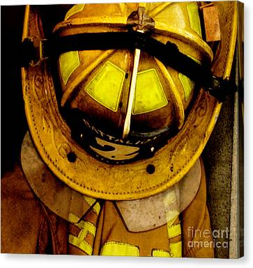 Waiting For Fire - Battalion 2  Canvas Print by Steven  Digman