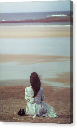 Waiting For High Tide Canvas Print by Joana Kruse