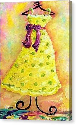 Waiting For Summer - Impressionism Canvas Print by Eloise Schneider