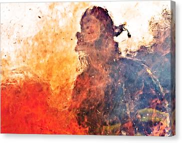 Walk Through Hell Canvas Print by Everet Regal