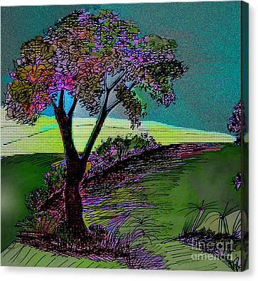 Walk With Me Canvas Print by Iris Gelbart