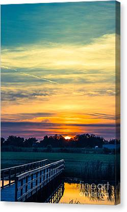 Walking In Beauty Canvas Print by Tom Gari Gallery-Three-Photography