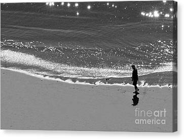 Walking With God Canvas Print by Artist and Photographer Laura Wrede