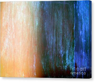Wall Abstract Canvas Print by Ed Weidman
