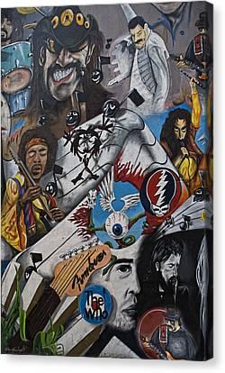 Wall-art 001 Canvas Print by Joachim G Pinkawa