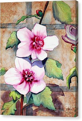 Wall Flowers Canvas Print by Flamingo Graphix John Ellis