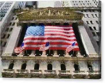 Wall Street Canvas Print by George Atsametakis