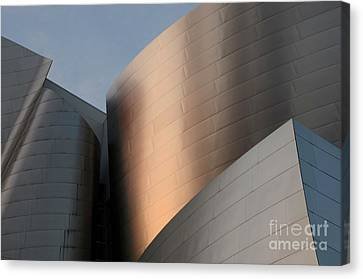 Walt Disney Concert Hall 15 Canvas Print by Bob Christopher
