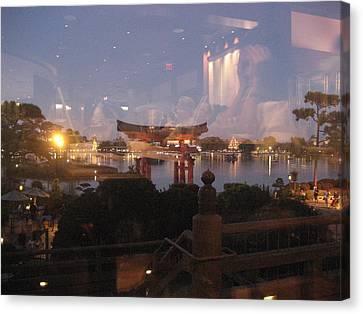 Walt Disney World Resort - Epcot - 121216 Canvas Print by DC Photographer
