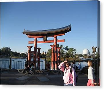 Walt Disney World Resort - Epcot - 12129 Canvas Print by DC Photographer