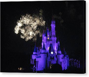 Walt Disney World Resort - Magic Kingdom - 121248 Canvas Print by DC Photographer