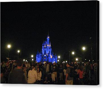 Walt Disney World Resort - Magic Kingdom - 12126 Canvas Print by DC Photographer