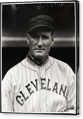 Walter Johnson Canvas Print by Gianfranco Weiss