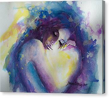 Wandering Through Dreams Canvas Print by Dorina  Costras
