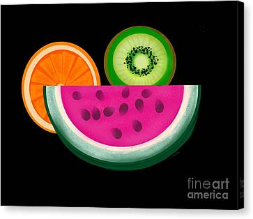 Want A Slice? Canvas Print by Christine Fournier