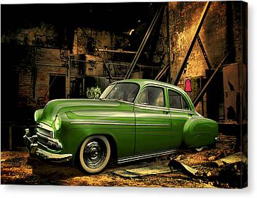 Warehouse Gem Canvas Print by Steven Agius