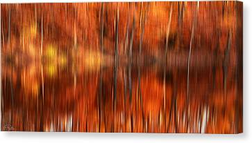Warmth Impression Canvas Print by Lourry Legarde