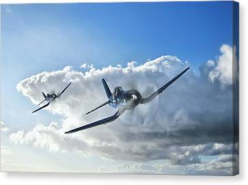 Warriors Canvas Print by Peter Chilelli
