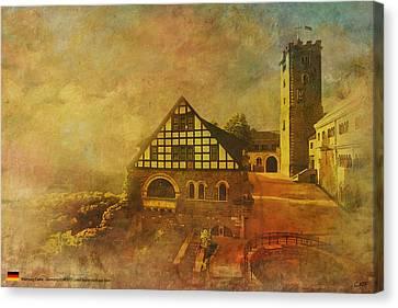Wartburg Castle Canvas Print by Catf