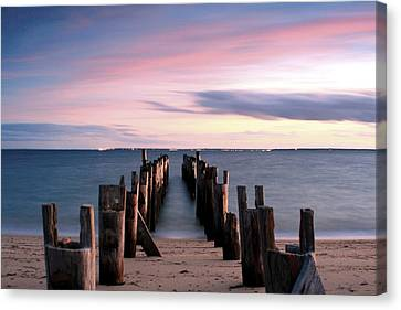 Washed Away Canvas Print by Matthew Grice