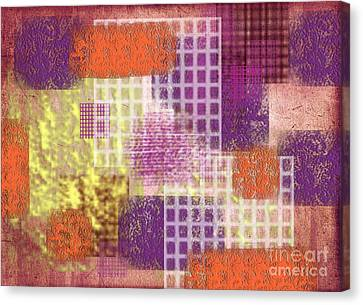 Washi Papers 1 Canvas Print by Delphimages Photo Creations