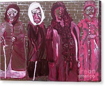 Washington Dc Henderson Memorial Ladies  Canvas Print by Leslie Byrne