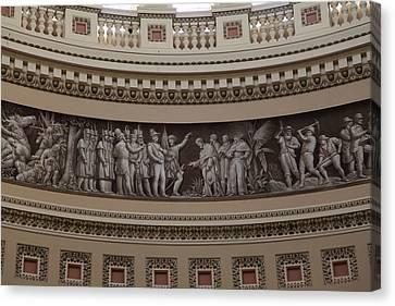 Washington Dc - Us Capitol - 011319 Canvas Print by DC Photographer