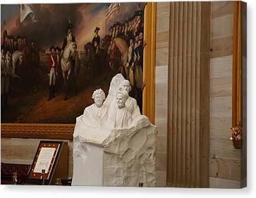 Washington Dc - Us Capitol - 011324 Canvas Print by DC Photographer