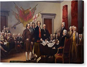 Washington Dc - Us Capitol - 011327 Canvas Print by DC Photographer