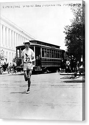 Washington Marathon, 1911 Canvas Print by Granger