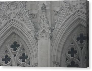 Washington National Cathedral - Washington Dc - 0113110 Canvas Print by DC Photographer