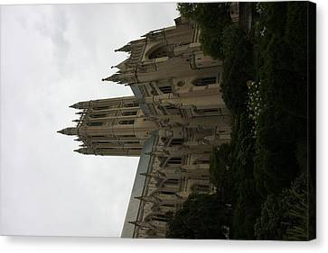Washington National Cathedral - Washington Dc - 011351 Canvas Print by DC Photographer