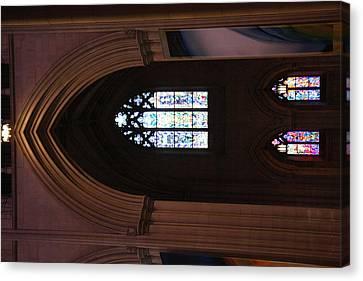Washington National Cathedral - Washington Dc - 011387 Canvas Print by DC Photographer