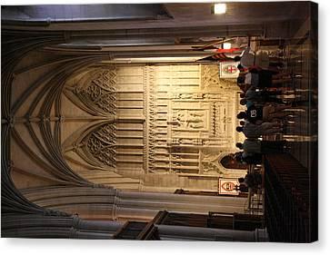 Washington National Cathedral - Washington Dc - 011393 Canvas Print by DC Photographer
